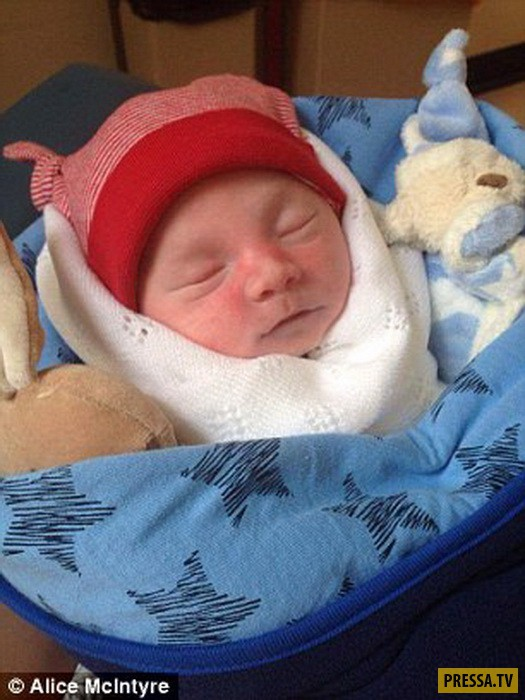 Забота об умершем младенце - новые шокирующие технологии (8 фото)