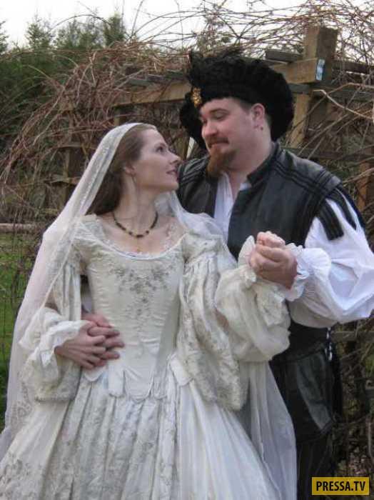 Необычный средневековый обряд для сохранения невинности влюбленных (6 фото)