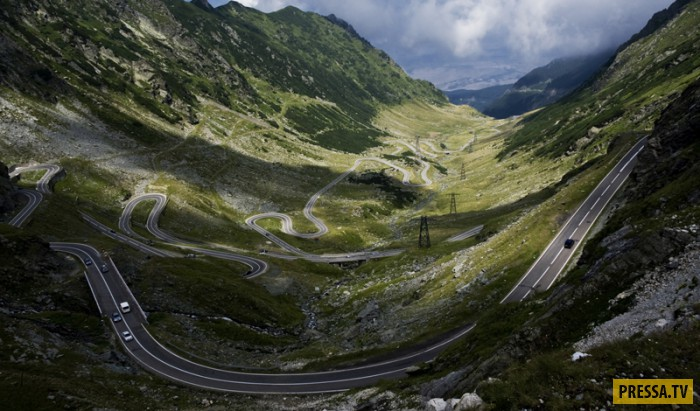 Самые лучшие и самые худшие дороги в мире (10 фото)