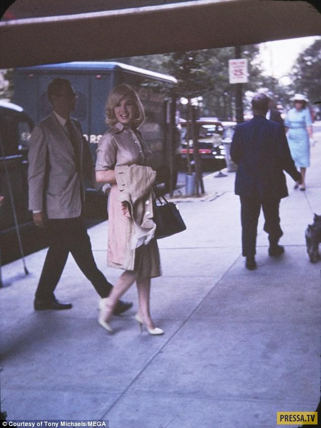 Ранее неизвестные фотографии беременной Мэрилин Монро (10 фото)