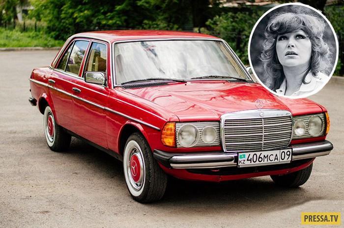 Советские знаменитости и их иномарки (10 фото)