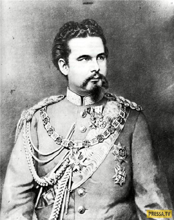 "Людвиг II Баварский - ""сказочный король"" (10 фото)"