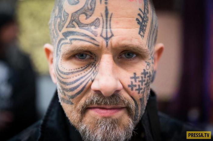 В Лондоне собрались мастера тату (28 фото)