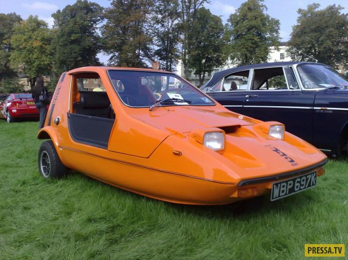 Причудливые автомобили 70-х (10 фото)