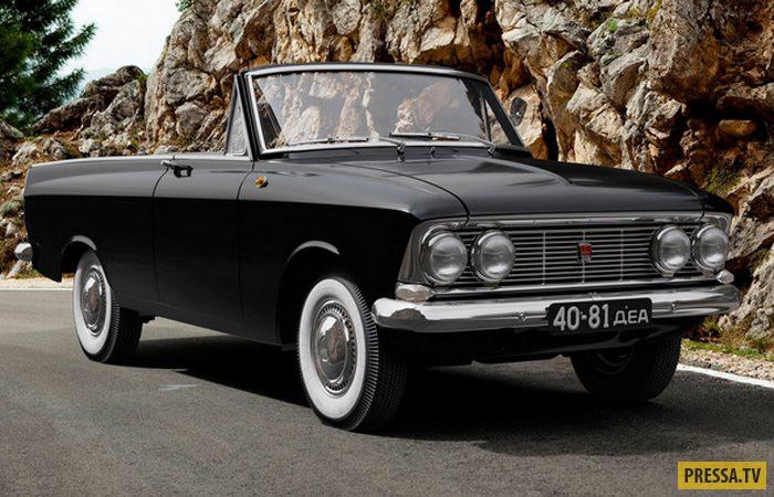 Интересные советские автомобили не попавшие в серийное производство (13 фото)