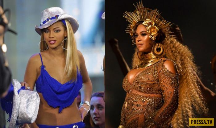 Как быстро летит время - знаменитости 10 лет назад и сейчас (23 фото)