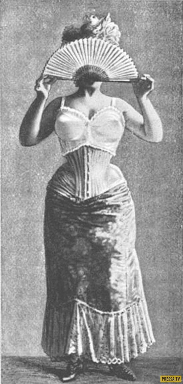 ТОП-10 диких заблуждений о женском теле в прошлом (11 фото)