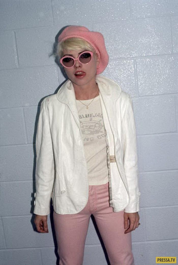 Американская актриса и певица Дебби Харри  - звезда 70-х (20 фото + видео)