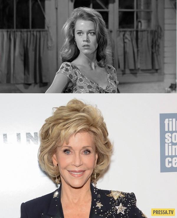 Знаменитые актрисы - первые и последние роли (26 фото)