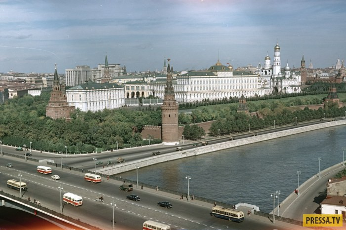 СССР в 50-ые годы в фотографиях Семёна Фридлянда (16 фото)