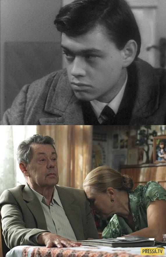 """И вновь немного о любимых актёрах из серии - """"тогда и сейчас"""" (23 фото)"""