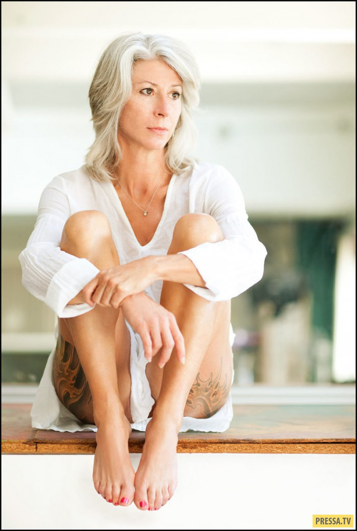 56-летняя американка хочет доказать, что сексуальной можно быть в любом возрасте (13 фото)
