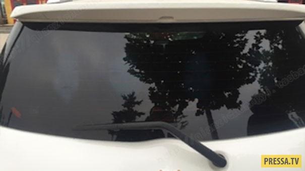 Эффективное средство для борьбы с любителями ослеплять фарами на дороге (7 фото)