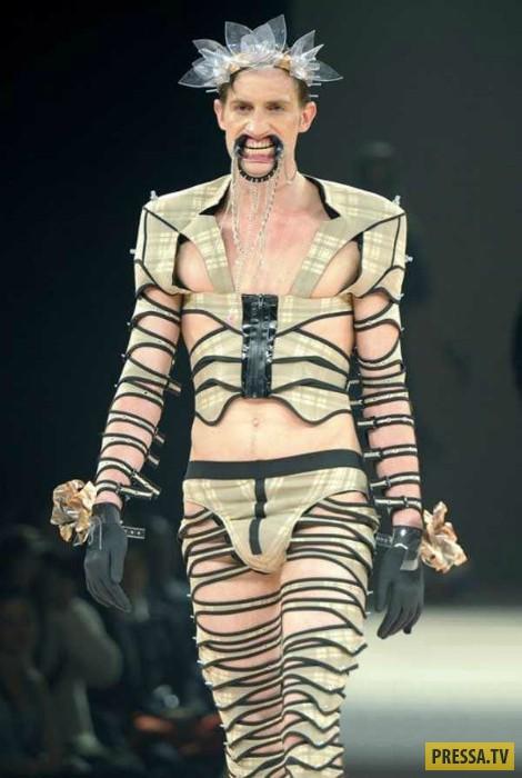 ТОП-13 примеров  убойной и неподвластной пониманию мужской моды (13 фото)