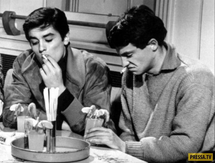 Жан-Поль Бельмондо и Ален Делон- знаменитые друзья, история жизни в нескольких фото