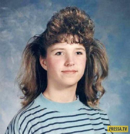 Причёски 80