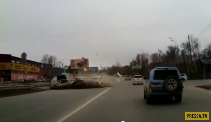 Смертельное ДТП на проспекте Мира в Южно-Сахалинске