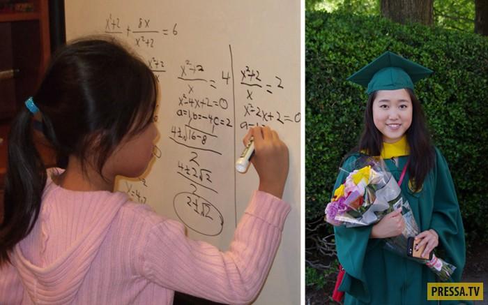 Стефани Мои - гений математики (8 фото)
