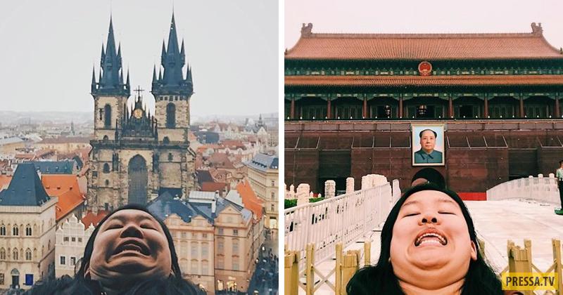 Девушка бросила вызов гламурным фото в Instagram! (40 фото)