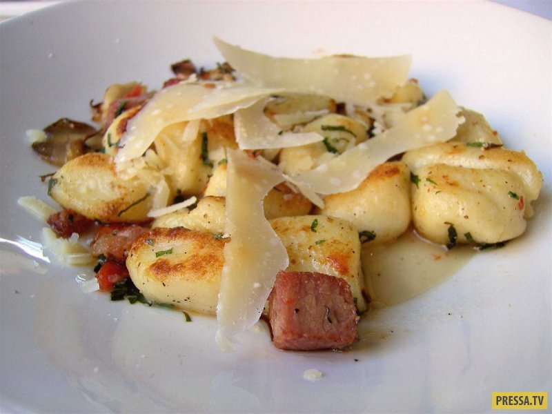 Блюда из картошки и муки