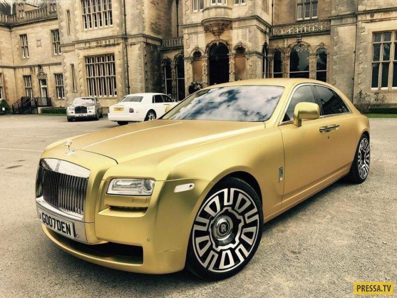 Только криптовалюта: Роскошный Rolls-Royce Ghost продают в Великобритании за 15 биткоинов (4 фото)