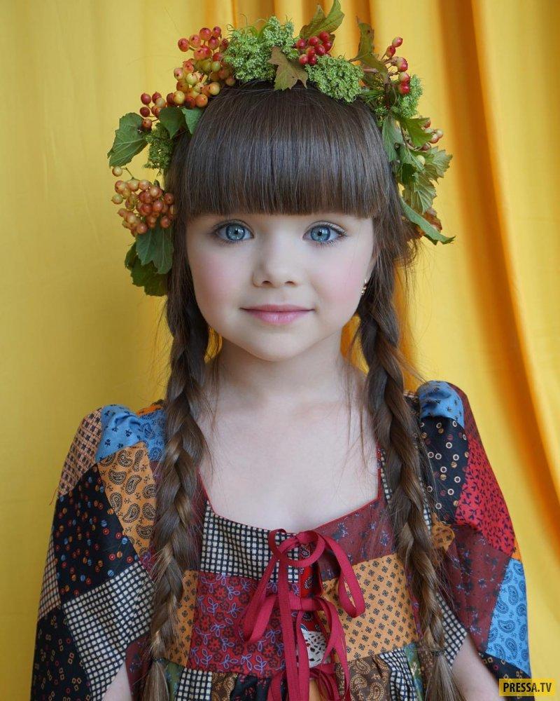 Самые красивые дети фото девочек
