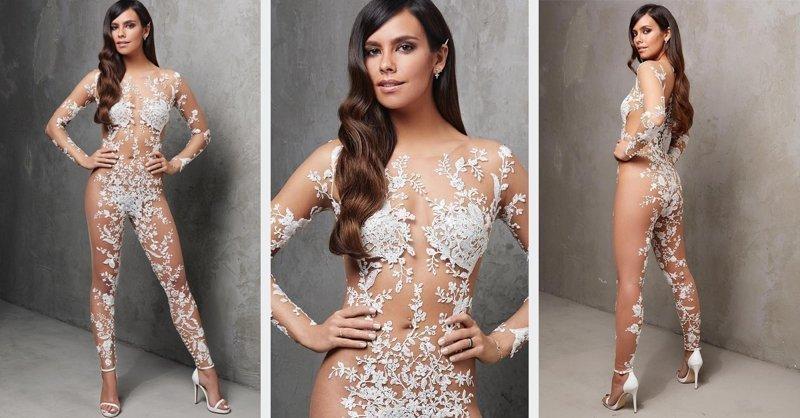 Ниже падать некуда: дизайнеры создали голое свадебное платье (4 фото)