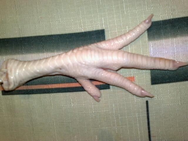 Куриные лапы своими руками