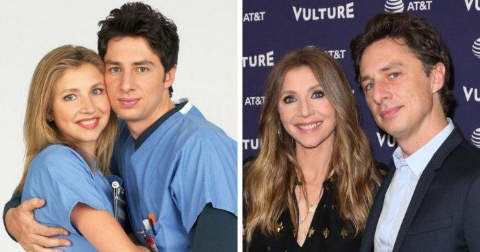 Знаменитые пары из известных зарубежных сериалов тогда и сейчас