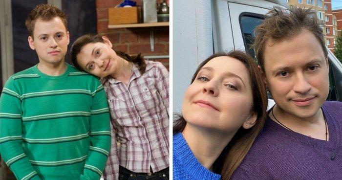 Пары из отечественных сериалов тогда и сейчас