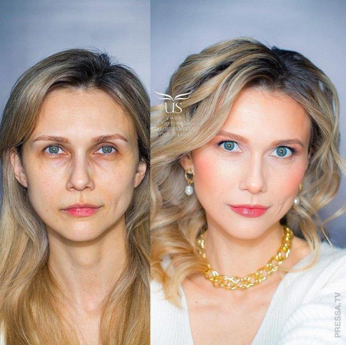 Великолепное преображение от мастера-визажиста