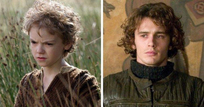 Актеры, сыгравшие одного героя, но разного возраста