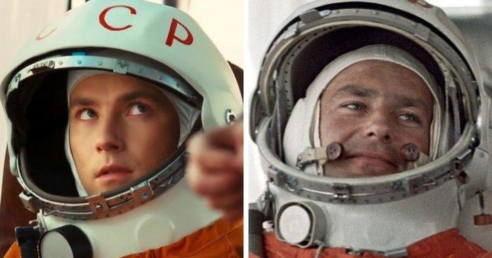 Известные космонавты в кино и в жизни