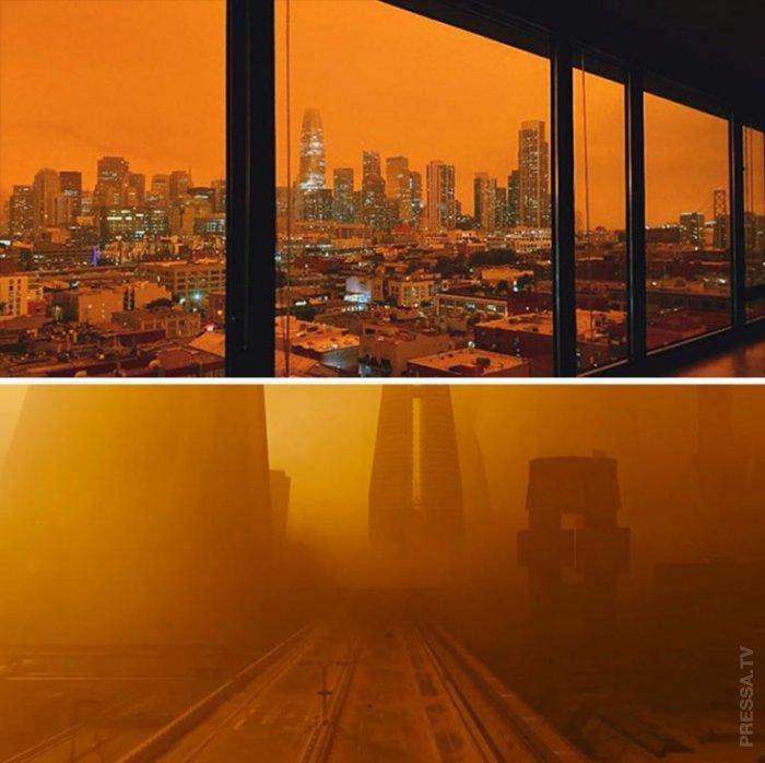 Реальные фотографии больше похожие на кадры фантастических фильмов или видеоигр