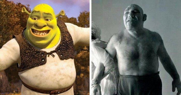 Вымышленные герои фильмов, чьи образы созданы на основе реальных прототипов