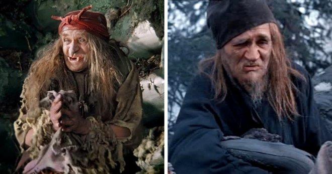 Разные персонажи в одной картине, сыгранные одним актером