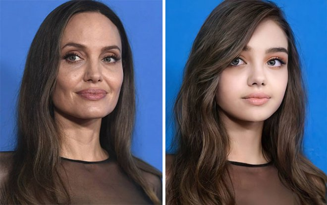 Как выглядели знаменитости в подростковом возрасте можно посмотреть при помощи искусственного  интеллекта
