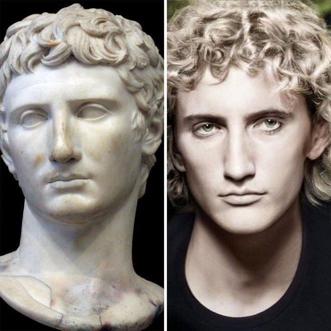 Как бы выглядели известные исторические личности, если бы жили в наше время