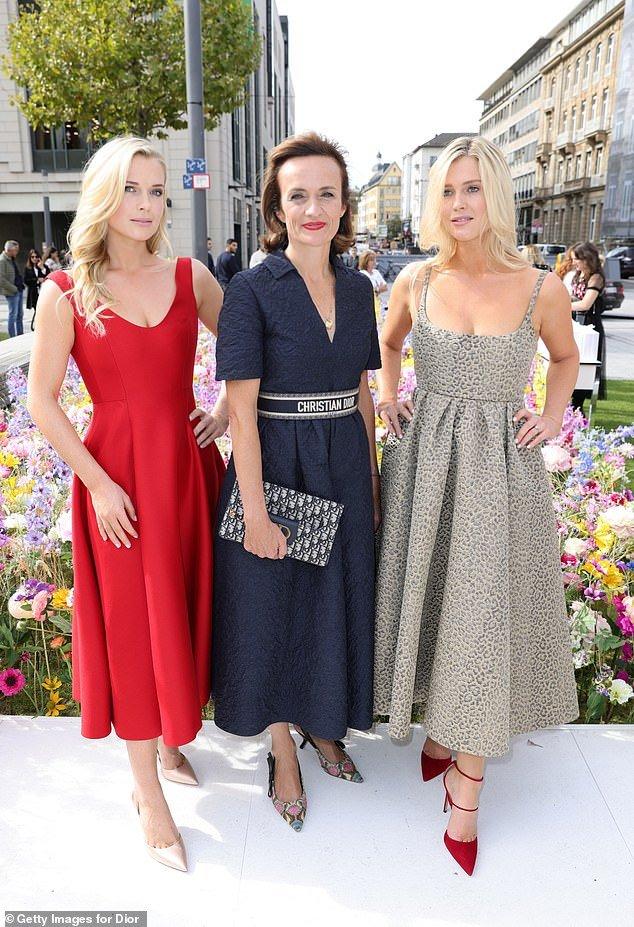 Племянницы принцессы Дианы привлекли внимание на презентации новой коллекции Dior в Дюссельдорфе