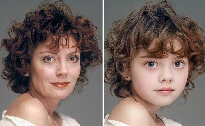 Как знаменитости выглядели в детстве