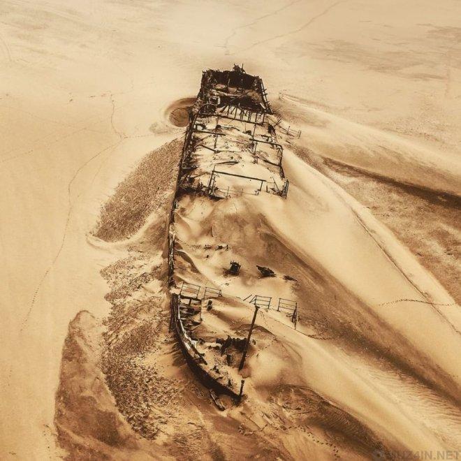 Берег Скелетов - самое негостеприимное место на Земле