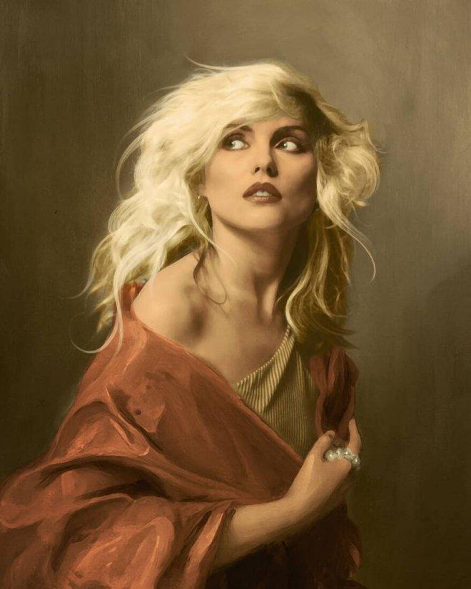 Французский художник добавляет современных знаменитостей на классические картины