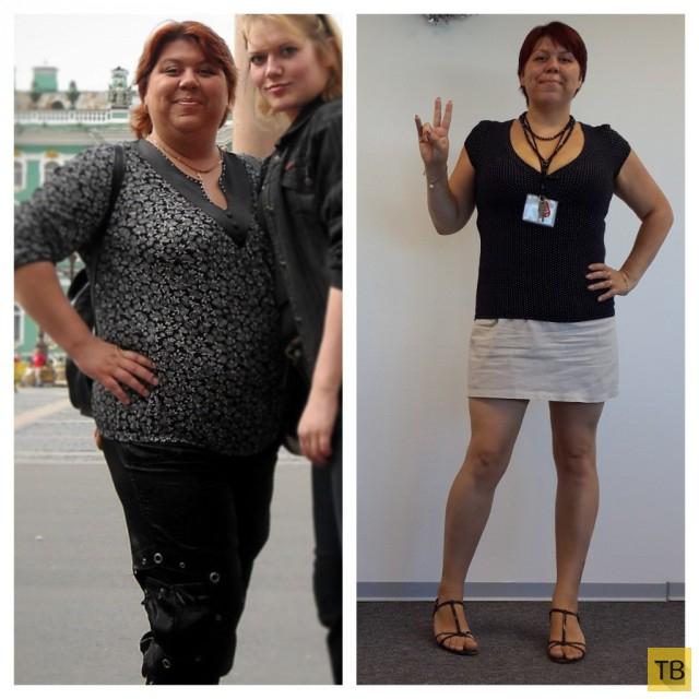 Реальное похудение на примере похудевших