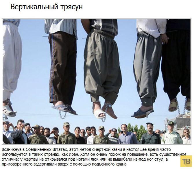 (18+) Топ 15: Самые жестокие способы смертной казни (16 фото)