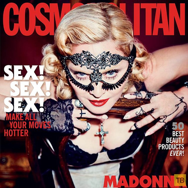 Мадонна для Cosmopolitan 50th Anniversary May 2015 (6 фото)