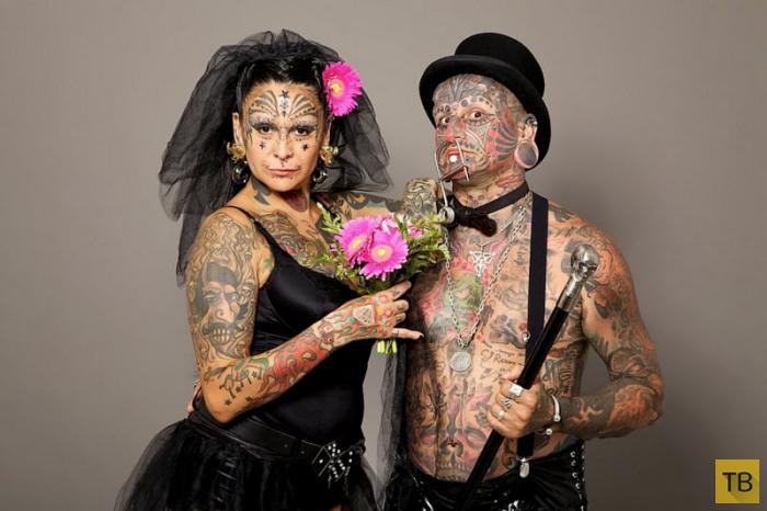 Топ 7: Самые необычные семейные пары (7 фото)