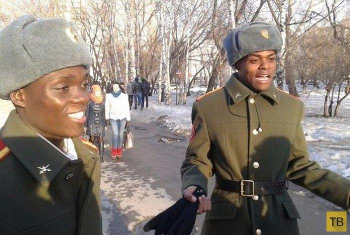Русские или негры