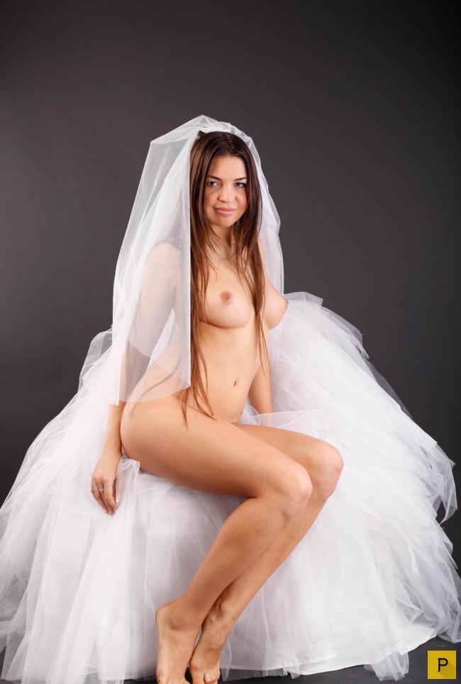 Фото свадьбы ню, оттрахали толстым членом