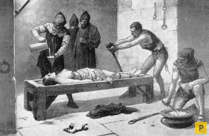Картинки жестокие пытки