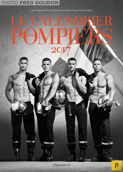 Впечатляющий календарь на 2017 год от французских пожарных (8 фото)